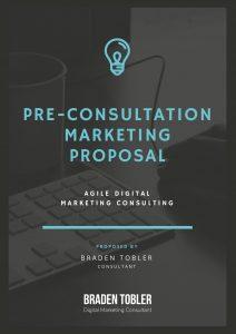 Pre Consultation Proposal - Cover
